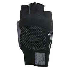 Nike Mens Lock Down Training Gloves Grey / Black L, Grey / Black, rebel_hi-res