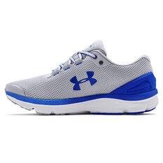 Under Armour Charged Gemini 2020 Mens Running Shoes Grey/White US 7, Grey/White, rebel_hi-res