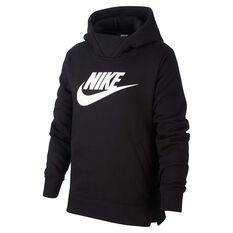 49fccdac Nike Girls Sportswear Pullover Hoodie Black XS, Black, rebel_hi-res ...