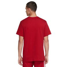 Nike Mens Liverpool FC Evergreen Crest T-shirt Red S, Red, rebel_hi-res