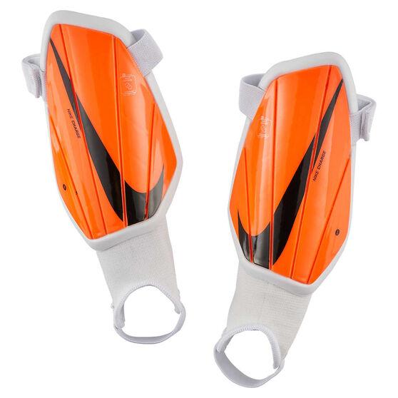 Nike Kids Charge Shin Guards, Orange / Black, rebel_hi-res