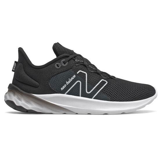 New Balance Fresh Foam Roav v2 Kids Running Shoes, Black, rebel_hi-res