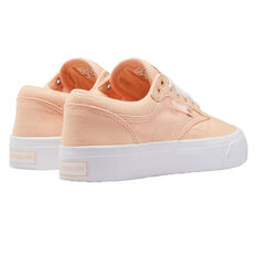 Reebok Club C Coast Womens Casual Shoes, Orange/White, rebel_hi-res