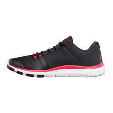 Under Armour Strive 7 Mens Training Shoes Black / Red US 8.5, Black / Red, rebel_hi-res