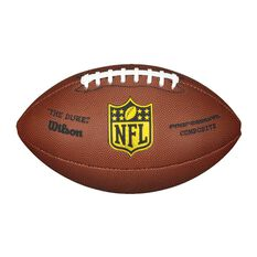 Wilson NFL Duke Replica Football Brown / white 5, , rebel_hi-res