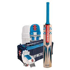 Gray Nicolls Maax Blast Cricket Set White Junior Right Hand, White, rebel_hi-res
