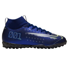 Nike Mercurial Superfly VII Academy Kids Touch and Turf, Blue / Silver, rebel_hi-res