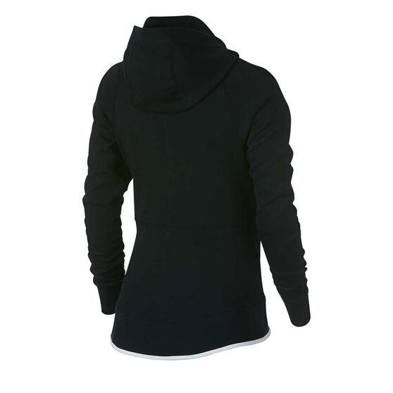 9efe0b3c8726 Nike Womens Sportswear Tech Fleece Hoodie Black XS