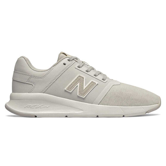 New Balance 24v2 Womens Casual Shoes, White, rebel_hi-res