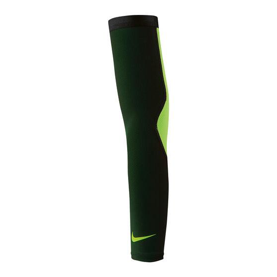 Nike Reveal Basketball Sleeve Black / Green L / XL, Black / Green, rebel_hi-res