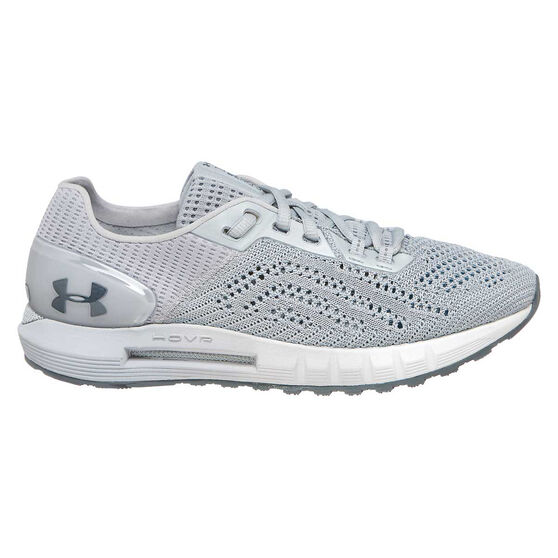 Under Armour HOVR Sonic 2 Womens Running Shoes, Grey / White, rebel_hi-res
