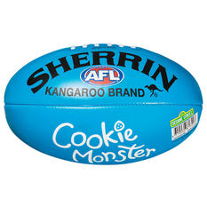 Sherrin Sesame Street Soft Touch Australian Rules Ball, , rebel_hi-res