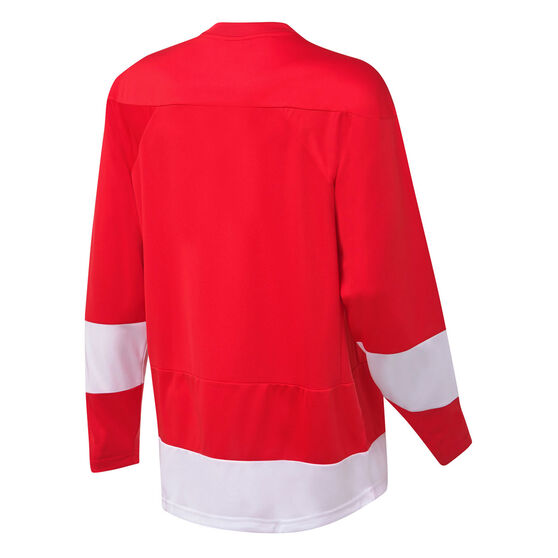 Majestic Mens Detroit Red Wings Home Jersey, Red, rebel_hi-res