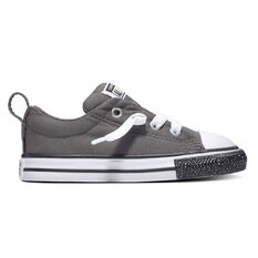 Converse Chuck Taylor All Star Glitter Low Top Toddlers Shoes Grey / White US 4, , rebel_hi-res