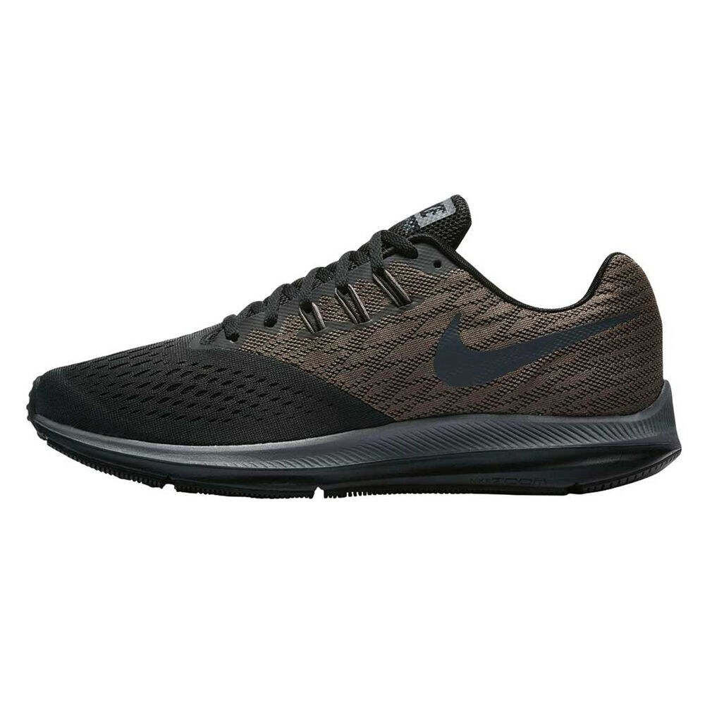 8bec34fa7296 Nike Zoom Winflo 4 Mens Running Shoes Grey   Black US 7