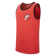 Nike Mens Sportswear RS2 Tank Red S, Red, rebel_hi-res