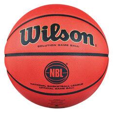 Wilson Solution Official NBL Game Ball Orange 7, , rebel_hi-res