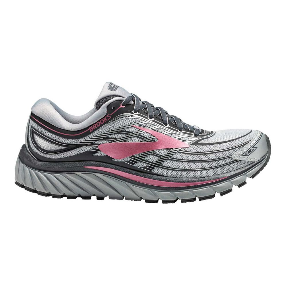 33bf19dc6d315 Brooks Glycerin 15 Womens Running Shoes Grey   Rose US 6.5