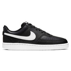 Nike Court Vision Low Womens Casual Shoes Black / White US 6, , rebel_hi-res