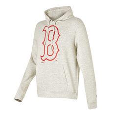 Boston Red Sox 2021 Mens Prism Hoodie White S, White, rebel_hi-res