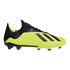 adidas X 18.3 Mens Football Boots Yellow / Black US 7, Yellow / Black, rebel_hi-res