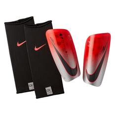 Nike CR7 Mercurial Lite Football Shin Guards Red / Black S, Red / Black, rebel_hi-res