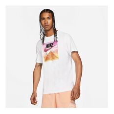 Nike Mens Sportswear Festival Photo Tee White XS, White, rebel_hi-res