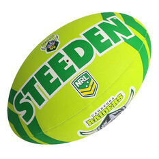 Steeden NRL Canberra Raiders Supporter Rugby League Ball, , rebel_hi-res
