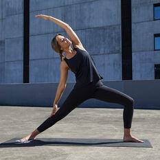 adidas Womens Elevate Training Tank, Black, rebel_hi-res