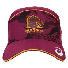 Brisbane Broncos 2021 Training Cap, , rebel_hi-res