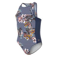 Roxy Keep In Flow One Piece Swimsuit Blue 8, Blue, rebel_hi-res