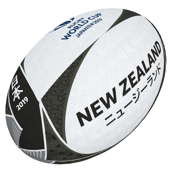 Gilbert Rugby World Cup 2019 New Zealand Supporter Rugby Ball, , rebel_hi-res