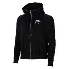Nike Air Womens Hoodie Black XS, Black, rebel_hi-res