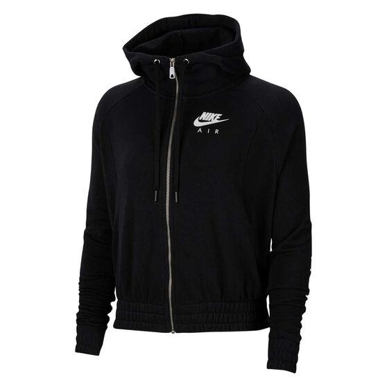 Nike Air Womens Hoodie Black S, Black, rebel_hi-res