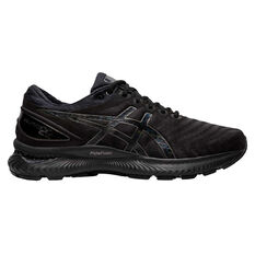 Asics GEL Nimbus 22 Mens Running Shoes Black US 7, Black, rebel_hi-res