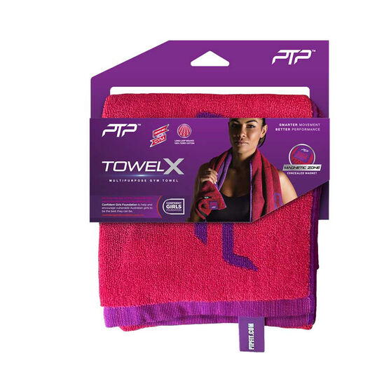 PTP Confident Girls Foundation Towel X Punch, , rebel_hi-res