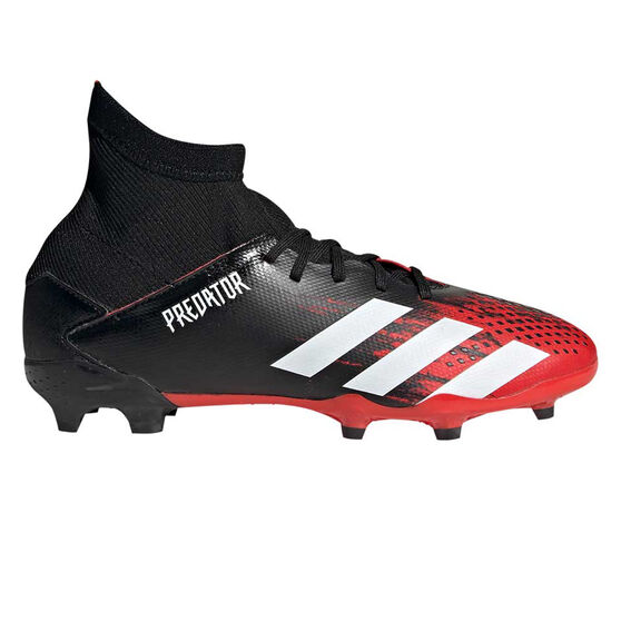 adidas Predator 20.3 Kids Football Boots, Black / White, rebel_hi-res