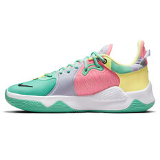 Nike PG 5 Daughters Basketball Shoes Green US 7, Green, rebel_hi-res