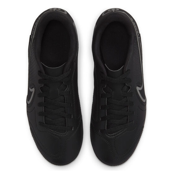 Nike Tiempo Legend 9 Club Kids Football Boots, Black/Grey, rebel_hi-res