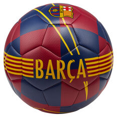 Nike FC Barcelona Prestige Soccer Ball Blue / Red 4, Blue / Red, rebel_hi-res