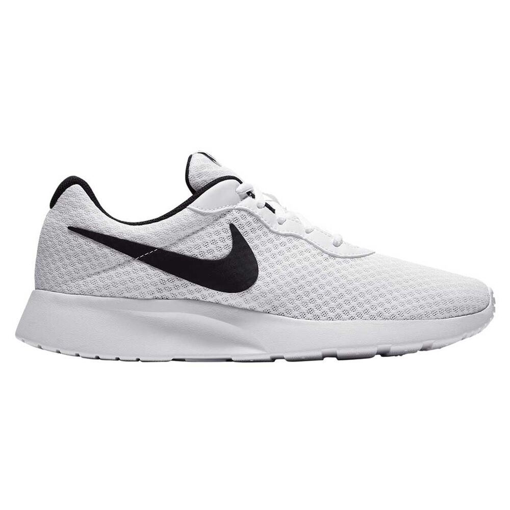 a643f96ed43a Nike Tanjun Mens Casual Shoes White   Black US 12