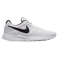 Nike Tanjun Mens Casual Shoes White / Black US 7, White / Black, rebel_hi-res