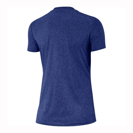 Nike Womens Dri-FIT Legend Training Tee Blue XS, Blue, rebel_hi-res