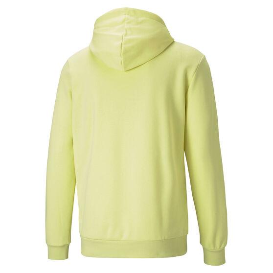 Puma Mens Big Logo Essential Hoodie, Yellow, rebel_hi-res