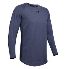 Under Armour Mens Charged Cotton Top Blue XS, Blue, rebel_hi-res