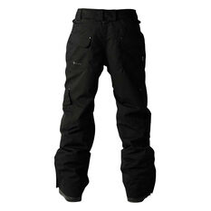 Elude Mens Intercept Ski Pants Black S, Black, rebel_hi-res
