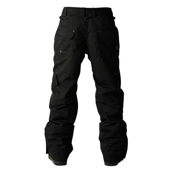 Elude Mens Intercept Ski Pants, Black, rebel_hi-res