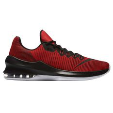 Nike Air Max Infuriate Low Mens Basketball Shoes Red / Black US 7, Red / Black, rebel_hi-res