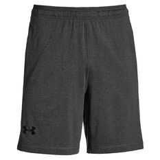 Under Armour Mens Raid 8in Training Shorts Grey S Adult, Grey, rebel_hi-res