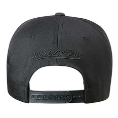 LA Clippers Black On Black 110 Pinch Cap, , rebel_hi-res